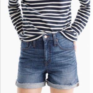 Ann Taylor Loft Midi Jean Shorts